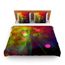 Dance by Alison Coxon Fleece Duvet Cover