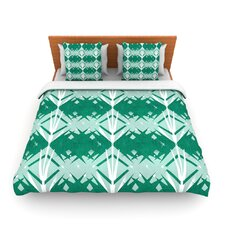 Diamond by Alison Coxon Fleece Duvet Cover