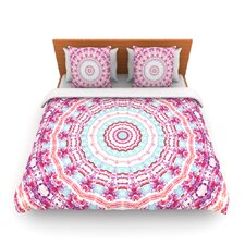 Happy by Iris Lehnhardt Fleece Duvet Cover