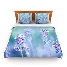 Lavender Dream by Iris Lehnhardt Fleece Duvet Cover