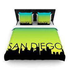 San Diego Woven Duvet Cover