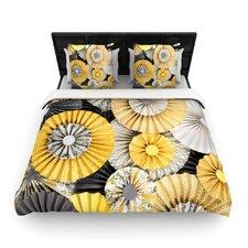 Daffodil by Heidi Jennings Woven Duvet Cover