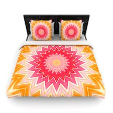 You are my Sunshine by Iris Lehnhardt Woven Duvet Cover