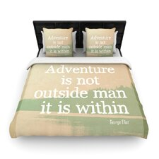 Adventure by Rachel Burbee Woven Duvet Cover