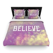 Believe by Rachel Burbee Woven Duvet Cover