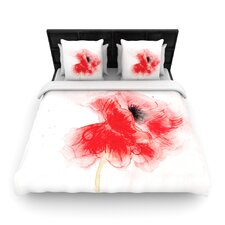 Poppy by Louise Woven Duvet Cover