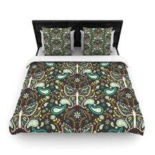 Butterfly Garden by Suzie Tremel Fleece Duvet Cover