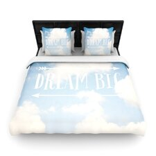 Dream Big by Susannah Tucker Fleece Duvet Cover