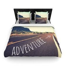 Adventure by Sylvia Cook Woven Duvet Cover