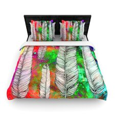 Feather by Suzanne Carter Fleece Duvet Cover