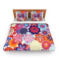 Patchwork Flowers Duvet Cover
