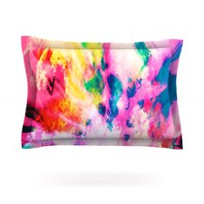 Technicolor Clouds by Caleb Troy Cotton Pillow Sham