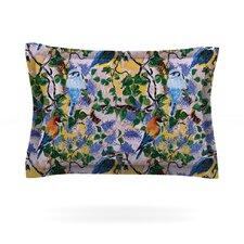 Birds by DLKG Design Cotton Pillow Sham