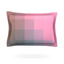 Girly Pixel Surface by Danny Ivan Cotton Pillow Sham