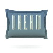 Dream Print by Galaxy Eyes Cotton Pillow Sham