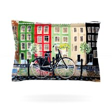Bicycle by Christen Treat Cotton Pillow Sham
