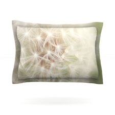 Dandelion by Catherine McDonald Woven Pillow Sham