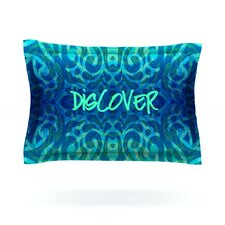 Tattooed Discovery by Caleb Troy Cotton Pillow Sham