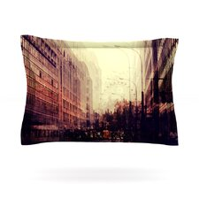 London by Ingrid Beddoes Woven Pillow Sham