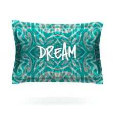 Tattooed Dreams by Caleb Troy Woven Pillow Sham