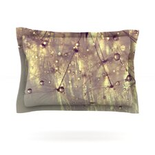 Sparkles of Gold by Ingrid Beddoes Woven Pillow Sham