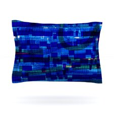 Squares Traffic by Frederic Levy-Hadida Cotton Pillow Sham