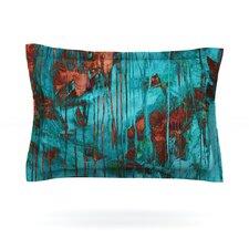 Rusty Teal by Iris Lehnhardt Cotton Pillow Sham