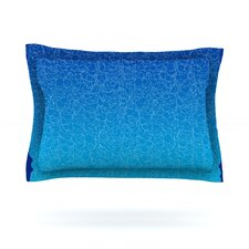 Bubbling by Frederic Levy-Hadida Cotton Pillow Sham
