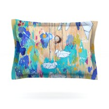 Origami Strings by Kira Crees Cotton Pillow Sham
