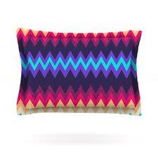 Surf Chevron by Nika Martinez Woven Pillow Sham