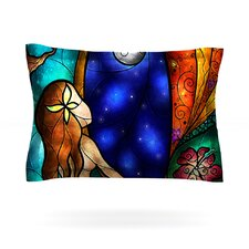 I Miss You by Mandie Manzano Woven Pillow Sham