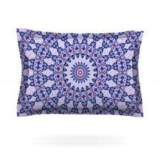Kaleidoscope Blue by Iris Lehnhardt Cotton Pillow Sham
