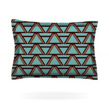 Deco Angels Choco Mint by Nina May Woven Pillow Sham