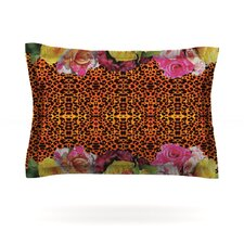 New Rose Eleo by Nina May Cotton Pillow Sham
