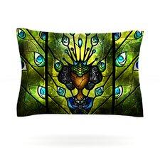 Angel Eyes by Mandie Manzano Woven Pillow Sham