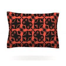 Oval Orange Love by Miranda Mol Cotton Pillow Sham