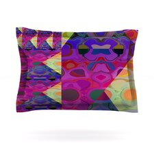 Alligator Patch by Nina May Woven Pillow Sham