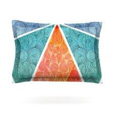 Pyramids of Giza by Pom Graphic Design Cotton Pillow Sham