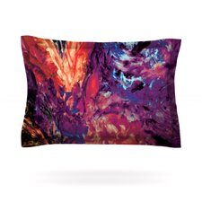 Passion Flowers II by Mary Bateman Cotton Pillow Sham