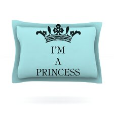Im a Princess by Louise Machado Cotton Pillow Sham