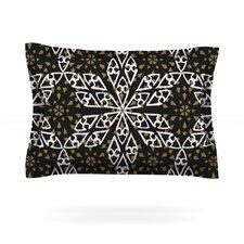 Ethnical Snowflakes by Miranda Mol Cotton Pillow Sham