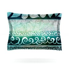 Dreamy Tribal by Pom Graphic Design Woven Pillow Sham