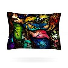 Sleep and Awake by Mandie Manzano Cotton Pillow Sham