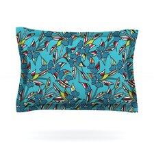 Paper Leaf by Michelle Drew Woven Pillow Sham
