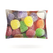 I Want Gum Drops by Libertad Leal Cotton Pillow Sham