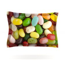 I Want Jelly Beans by Libertad Leal Woven Pillow Sham
