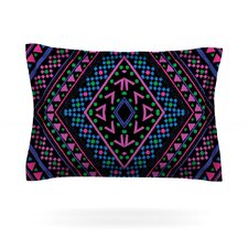 Neon Pattern by Nika Martinez Cotton Pillow Sham