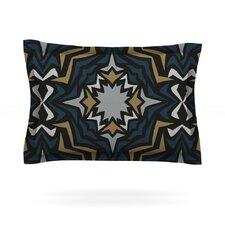 Winter Fractals by Miranda Mol Cotton Pillow Sham