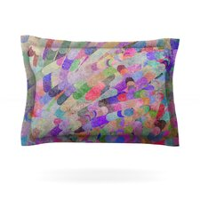 Abstract by Marianna Tankelevich Woven Pillow Sham