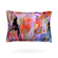 Painterly Blush by Nikki Strange Woven Pillow Sham